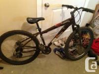 Norco Katmandu 21 rate mountain bike. 15 inch