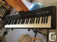 Kawai K4 electronic Synthesizer with carrying