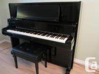 Used, Kawai upright piano available for sale. Beautiful sound for sale  British Columbia