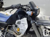 Kawasaki 1985 KL 600 R PARTS / PROJECT BIKE CARB IS