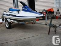 Kawasaki 650cc 2 seater Jet Ski in great condition and, used for sale  British Columbia