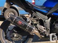 Make Kawasaki Model Ninja Year 2015 kms 3700 Bike is