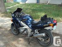 Make Kawasaki Year 1998 hello, my partner is wanting to