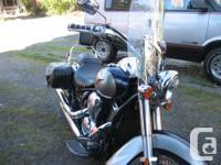 2006 kawasaki 900 vulcan run excellent belt driven bags