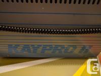 Kay Pro II Vintage Mobile Computer Kaypro 2 1982 for