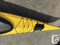 Wooden kayak, (17.5 foot) for sale $1,000. Hand made