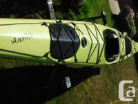 """Seaward Ascente 2005, soft lime, 55lbs. 18ft 5"""". 55lbs."""