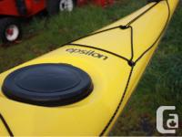 21ft sea kayak, like new condition (used three times),