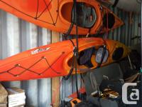 $750.00 Necky Manitu 11' with paddle, skirt and 'J'