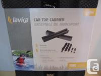 Kayak Universal Car Top Carrier NEW, WE HAVE 4 OF THESE