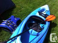 For sale is my extra kayak with everything you need to