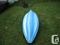 one year old, 8' Kayak. on sale at Canadian Tire for