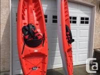 2 sit-up-on style kayaks for sale, 2 child or small
