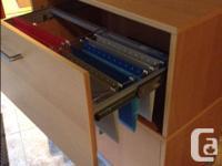 IKEA Effectiv unit. Measures W 85cm x D 43 x H 94 cm.