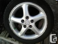 BUY A 2ND SET OF RIMS & STOP PAYING $$$ ON