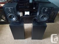 Here for sale is a great set of KEF Speakers from the