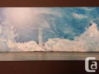 Renowned Winnipeg artist Keith Levit, framed print.
