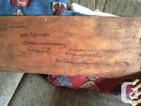 Ken Djogiba, Australian Aboriginal Bark Painting is an