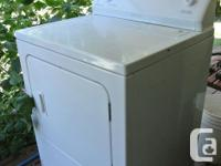 Free. Dryer is in good working condition. scratch marks