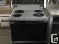 Working Dishwasher available as well as a working oven