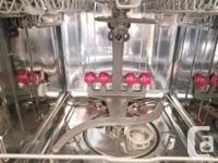 White Kenmore Elite Dishwasher Top of the line from