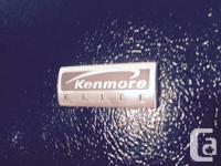 Black Kenmore Elite French Door top - bottom mount