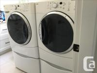 AS IS. Upmarket, 'Elite' series Gas dryer and Steam
