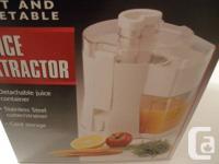 kenmore juicer. gently used kenmore juice extractor. model number juicer