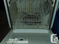 Dishwasher works well. We upgraded to a newer model.