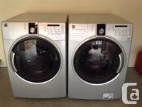 Like new, top of the line Kenmore washer and dryer.