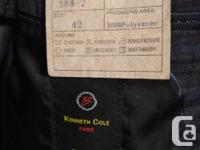 BRAND NEW - EXCELLENT CONDITION! *Suit / coat is size