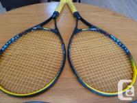 (2) Kennex Tennis Raquets in excellent condition,