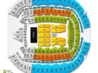 I have 4, Great seats together to see Kenny Chesney,