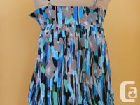 Cute, light and summery Kensie cotton sleeveless top.