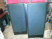 THIS PAIR OF KENWOOD 3 WAY SPEAKERS,HAVE BEEN WELL