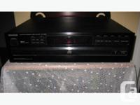 This made in Japan 5 Disc Player from Kenwood is in