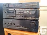 Great sound from this late-80's vintage component