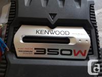 Kenwood KAC- 5204 350 Watt Power Amp Comes with: Power
