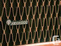 Kenwood kl 4080 speakers Very nice, very vintage, real