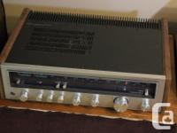 Here is a Kenwood KR-4600 receiver in good condition.