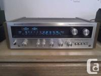 This receiver has been serviced with brand-new panel