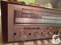 Hi, this is a gorgeous, and fantastic sounding Kenwood