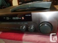 Hi, this is a great looking and sounding Kenwood VR-257