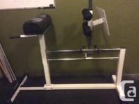 An entire box gym worth of equipment in great