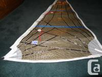 Kevlar sail. Could be made use of for a model boat or