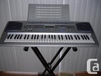 Casio keyboard with stand. full tricks, version=