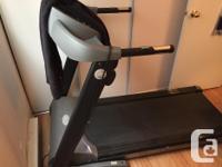 I am selling my Keys Fitness 4500 T model treadmill for