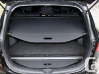 Retractable rear pull cover. Hide groceries, purchases