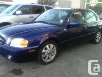 Make. Kia. Model. Magentis. Year. 2004. Colour. Blue.