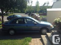 Make Kia Model Rio Year 2001 Colour Blue kms 64875